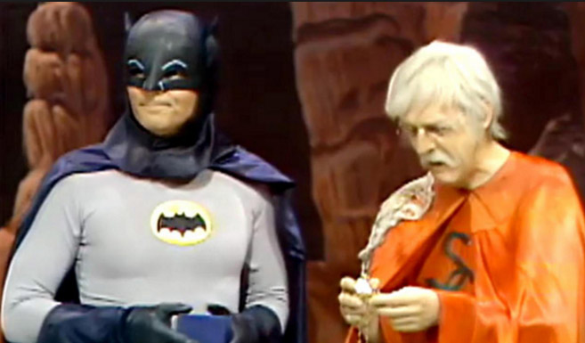 Бэтмен в сериале Легенды супергероев