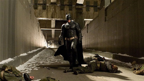 Бэтмен в фильме Тёмный рыцарь - Возрождение легенды (2012)
