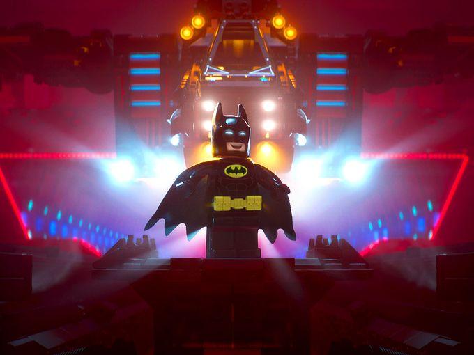 Кадры из Лего Фильм Бэтмен (2017)