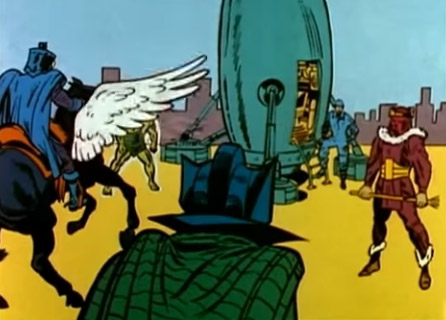 Мастера Зла в мультсериале Супергерои Marvel