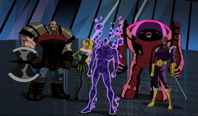 Мастера Зла в мультсериале Мстители Могучие герои Земли