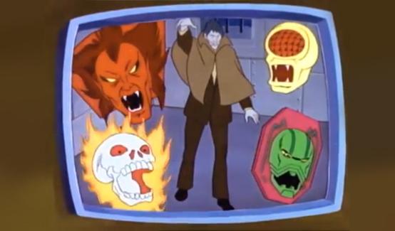 Мефисто в мультсериале Человек-паук и его удивительные друзья