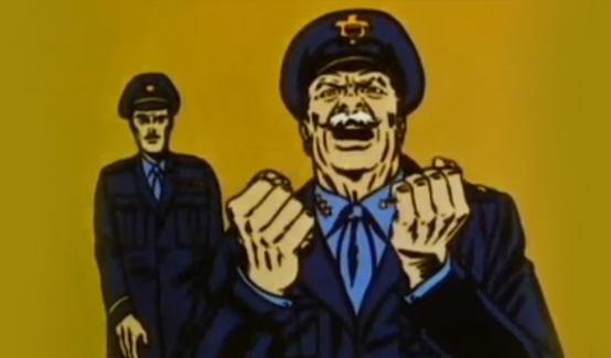 Генерал Росс в мультсериале Супергерои Marvel