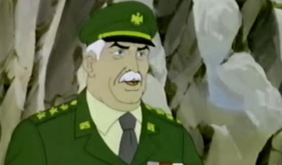 Генерал Росс в мультсериале Невероятный Халк 1982 года