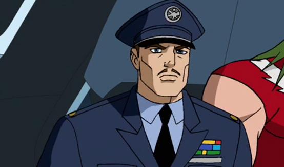 Громовержец Росс в мультсериале Мстители Величайшие герои Земли