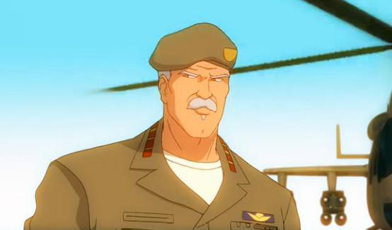Громовержец Росс в мультсериале Фантастическая четверка Величайшие герои мира