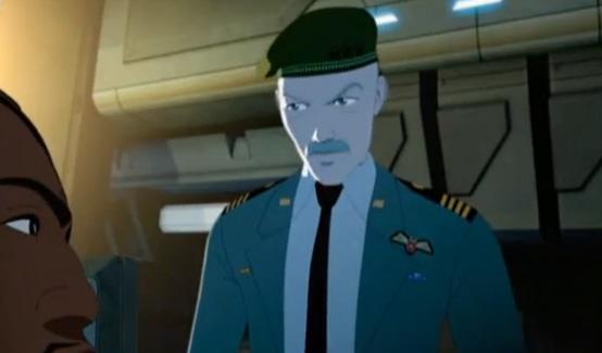 Генерал Росс в мультсериале Железный человек - Приключения в броне