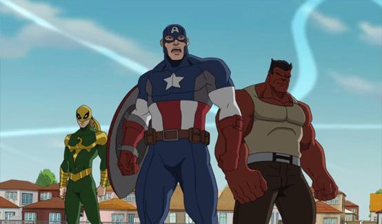 Красный Халк в мультсериале Совершенный Человек-Паук Паутинные бойцы