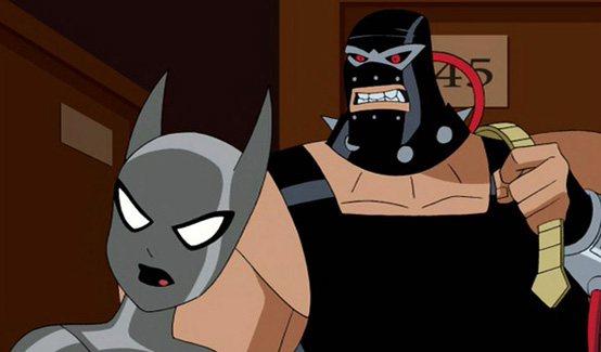 Бэйн в мультфильме Бэтмен и тайна женщины-летучей мыши