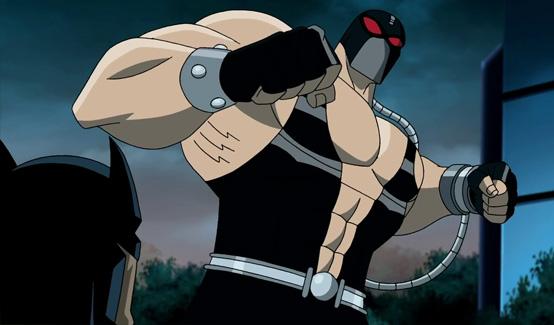 Бэйн в мультфильме Супермен/Бэтмен - Враги общества