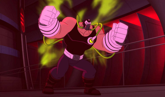 Бэйн в мультсериале Безграничный Бэтмен - Животные инстинкты