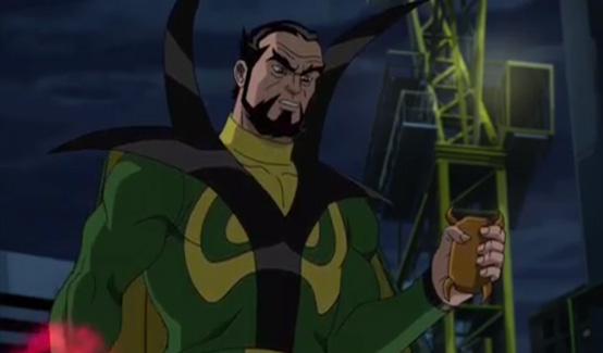 Барон Мордо в мультсериале Совершенный Человек-паук