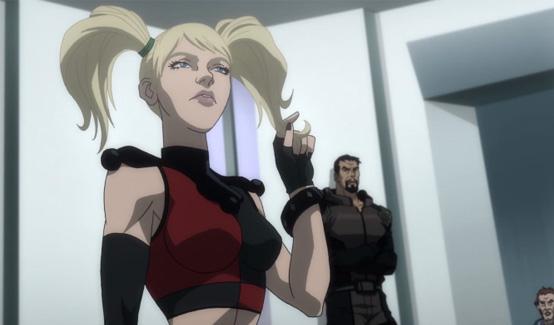 Харли Квинн появляется в Бэтмен - Нападение на Аркхэм