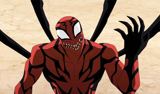 Карнаж в мультсериале Современный Человек-Паук
