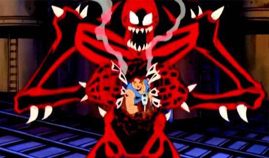 Карнаж в мультсериале Непобедимый Спайдермен