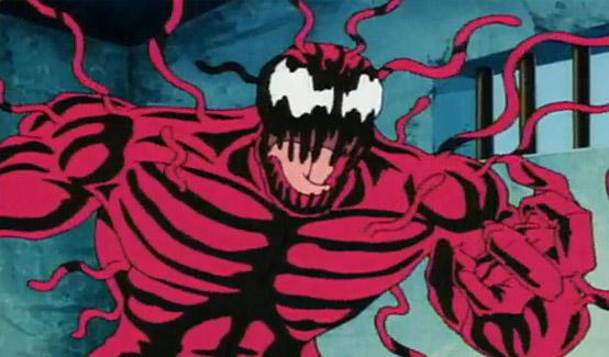 Карнаж в мультсериале Человек-паук