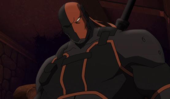 Дефстроук в мультике Сын Бэтмена
