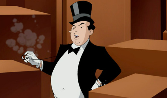Пингвин появляется в Бэтмен и тайна женщины-летучей мыши