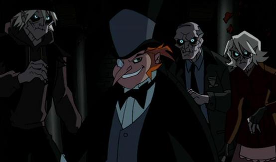 Пингвин появляется в Бэтмен против Дракулы