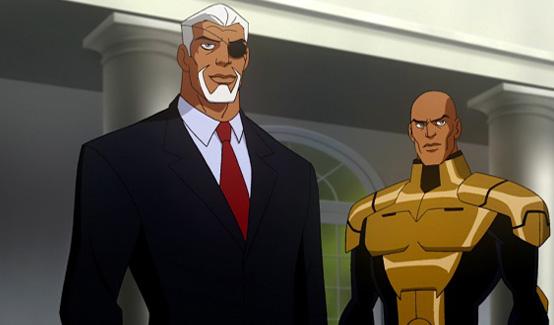 Дефстроук появляется в Лига Справедливости Кризис двух миров
