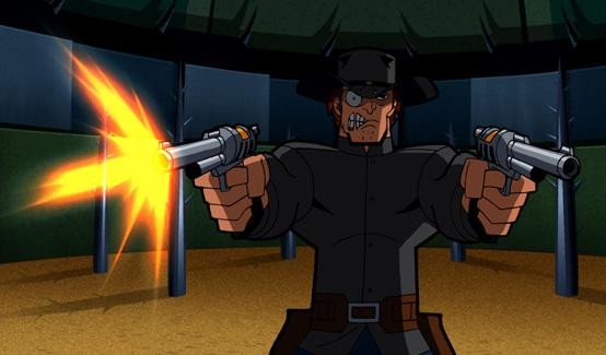 Джона Хекс в мультсериале Бэтмен Отважный и смелый