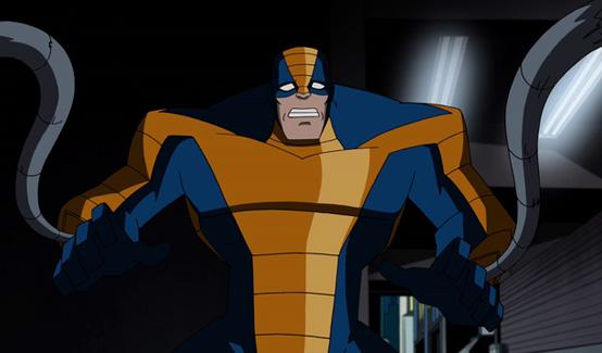 Констриктор в мультсериале Мстители Могучие герои Земли