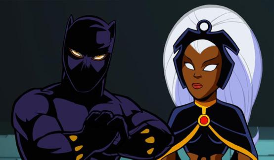 Шторм в мультсериале Отряд супергероев