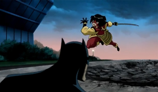 Катана в Супермен/Бэтмен Враги Государства