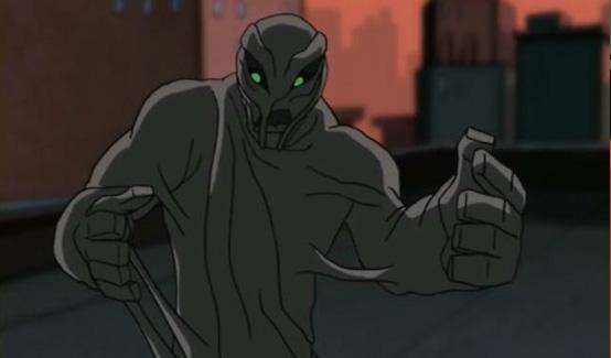 Глиноликий (Итан Беннетт) в мультсериале Бэтмен (2004 - 2008)