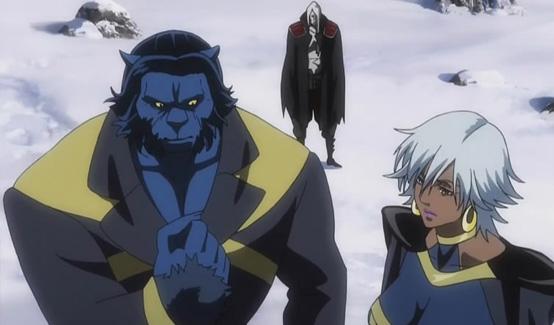 Зверь в мультсериале Marvel Anime Люди Икс