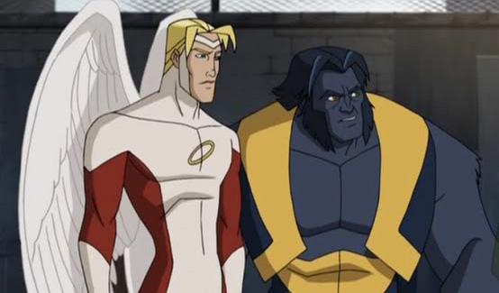Зверь в мультсериале Росомаха и Люди Икс