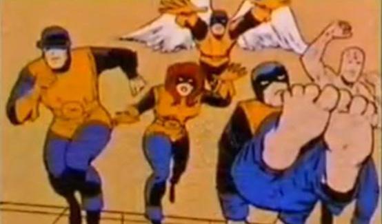Зверь в мультсериале Супергерои Marvel