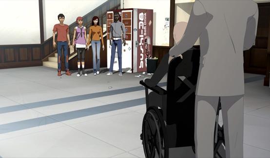 Ксавьер в мультсериале Железный человек: Приключения в броне