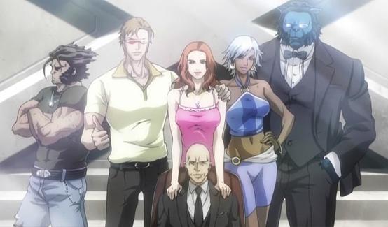 Ксавьер в мультсериале Marvel Anime: Люди Икс