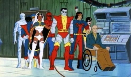 Ксавьер в мультсериале Человек-паук и его удивительные друзья
