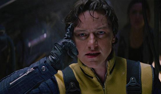 Ксавьер появляется в Люди Икс: Первый Класс