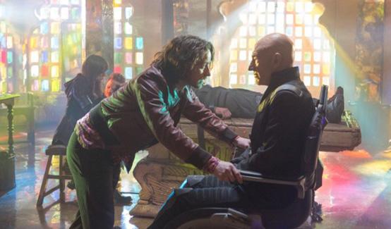 Ксавьер появляется в Люди Икс: Дни минувшего будущего