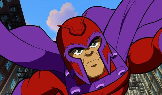 Магнето в мультсериале Отряд супергероев
