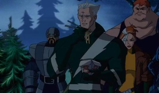 Ртуть в мультсериале Росомаха и Люди Икс