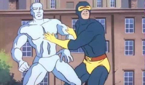 Циклоп в мультсериале Человек-паук и его удивительные друзья