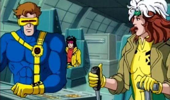 Циклоп в мультсериале Человек Паук (1992 год)