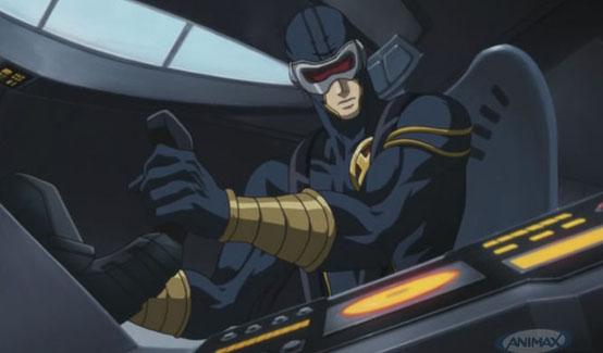 Циклоп в мультсериале Marvel Anime: Росомаха