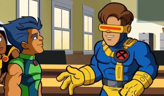 Циклоп в мультсериале Отряд супергероев