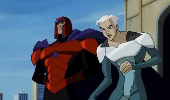 Ртуть в мультсериале Люди Икс: Эволюция