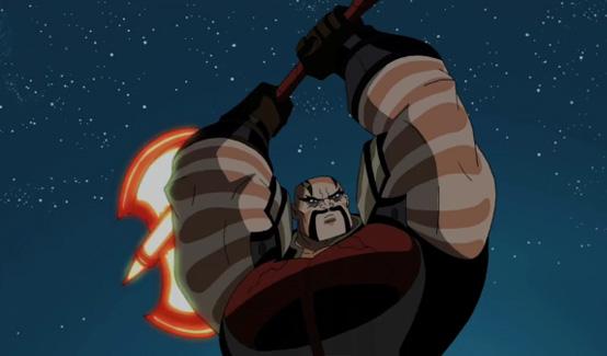 Палач в мультсериале Мстители: Могучие герои Земли
