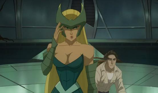 Чаровница появляется в Халк против Тора