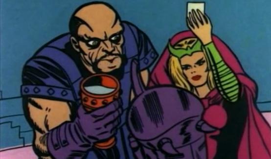 Палач в мультсериале Супергерои Marvel