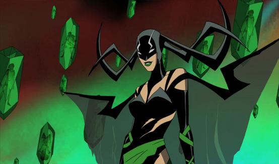 Хэла в мультсериале Мстители: Могучие герои Земли