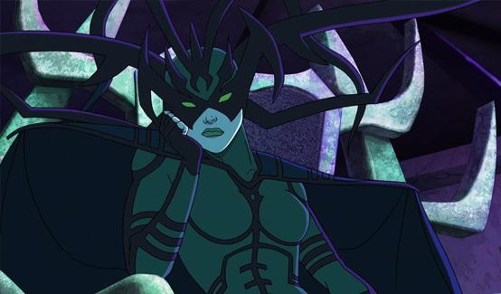 Хэла появляется в Мстители, общий сбор