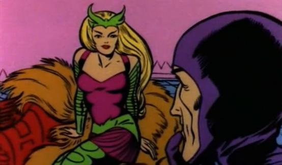 Амора в мультсериале Супергерои Marvel